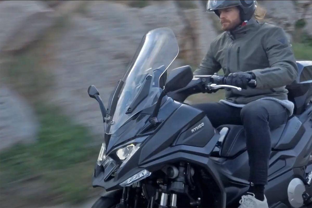 Kymco CV3 2021: un scooter de tres ruedas dispuesto a todo (VIDEO) (image)