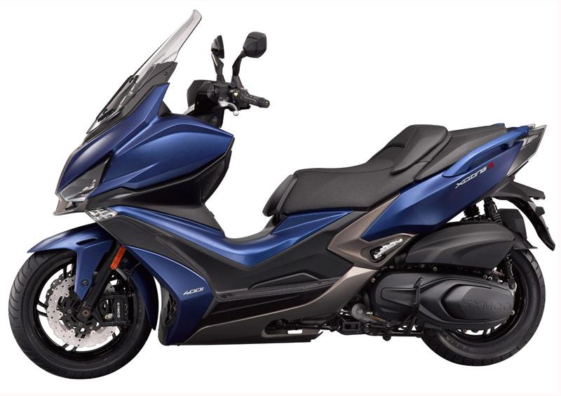 kymco xciting s 400 2018 perfil azul