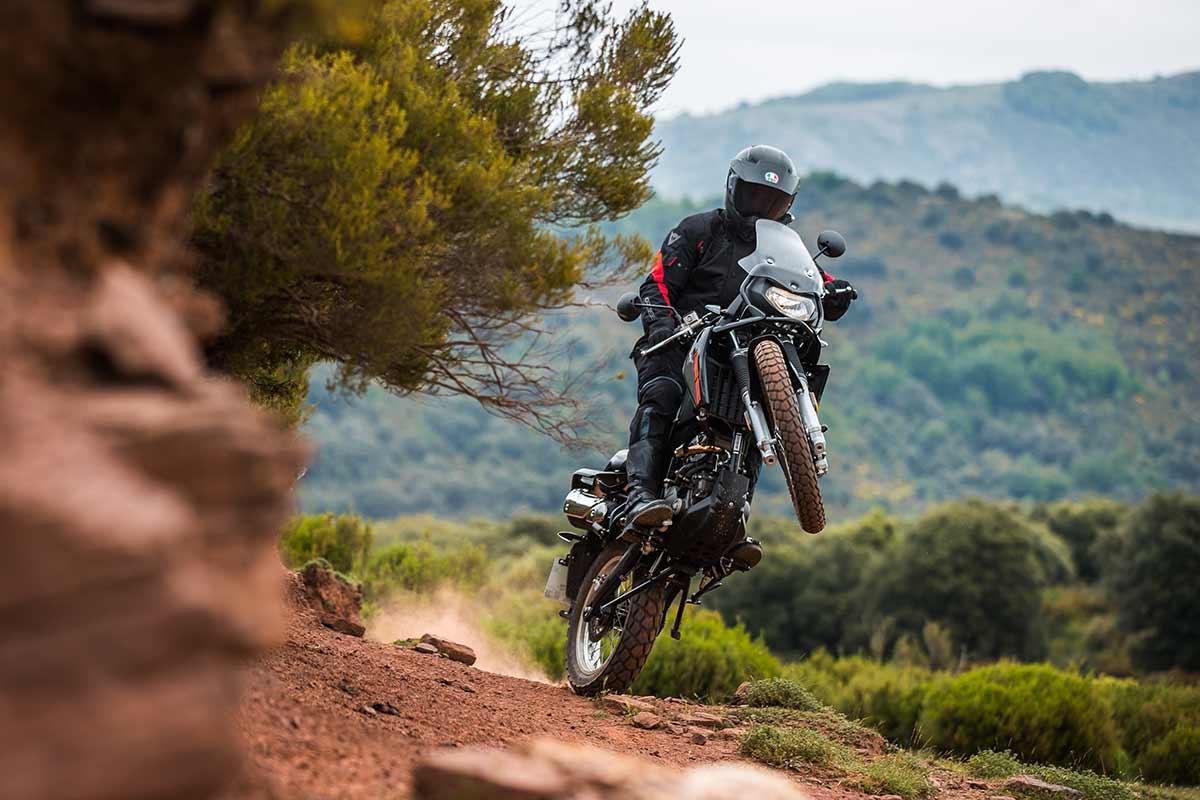 Malaguti DuneX 125: Más off-road   (image)