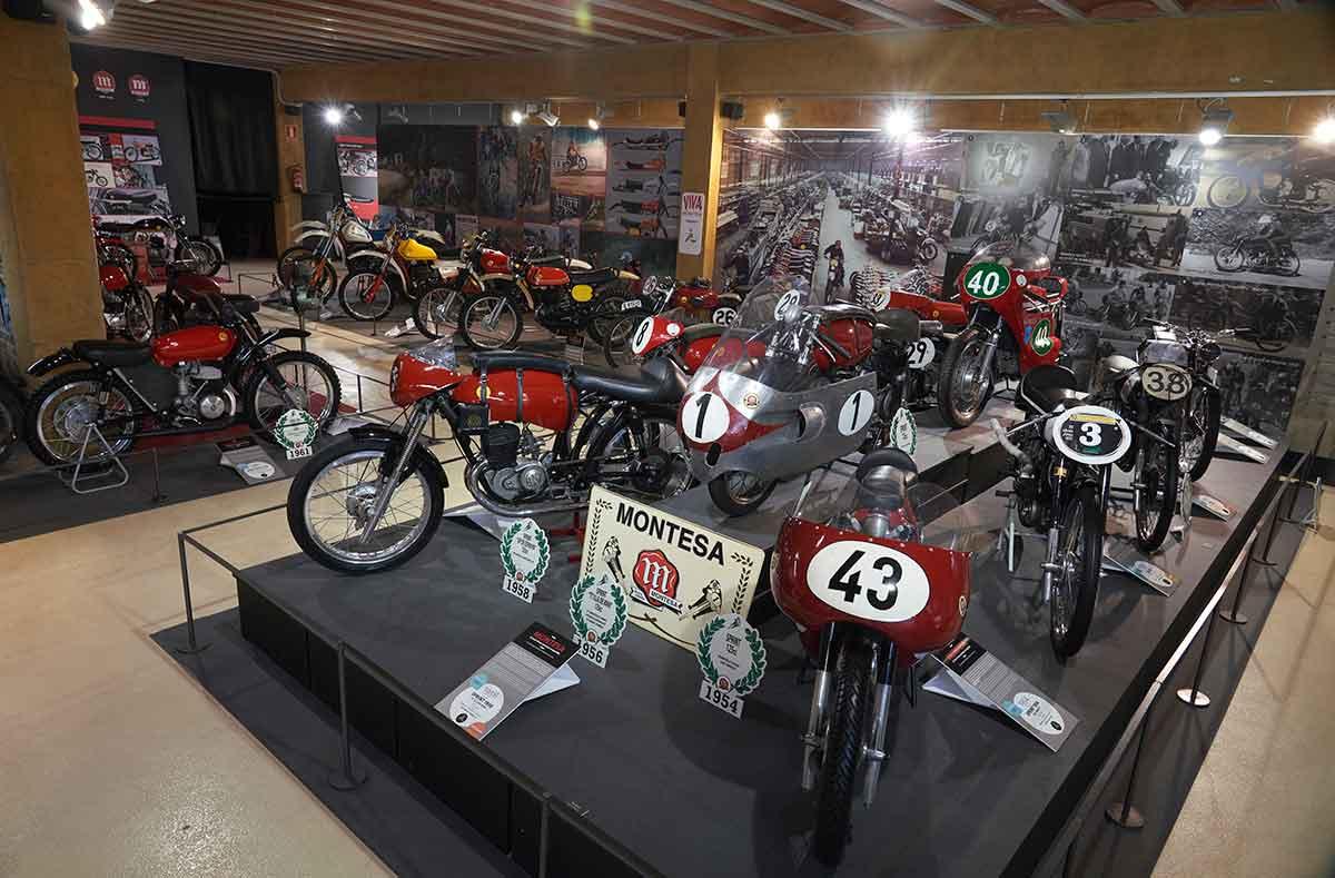 """""""Montesa, 75 años de una aventura irrepetible"""" en el Museu de la Moto de Bassella (image)"""