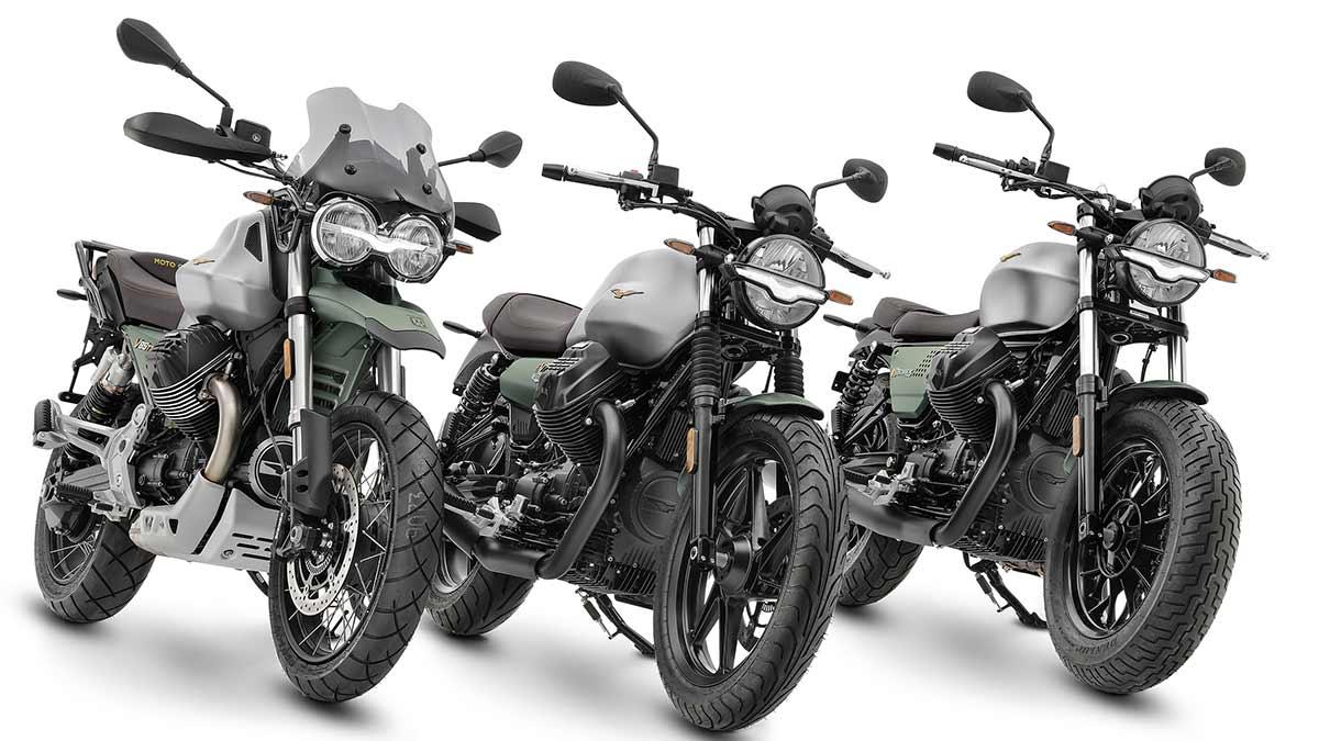 Moto Guzzi V85 TT, V9 y V7 Centenario: 100 años del Águila de Mandello (image)