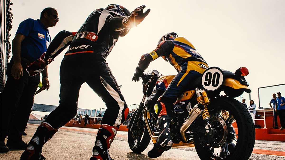 Copa de Europa Moto Guzzi Fast Endurance: carreras old school (image)