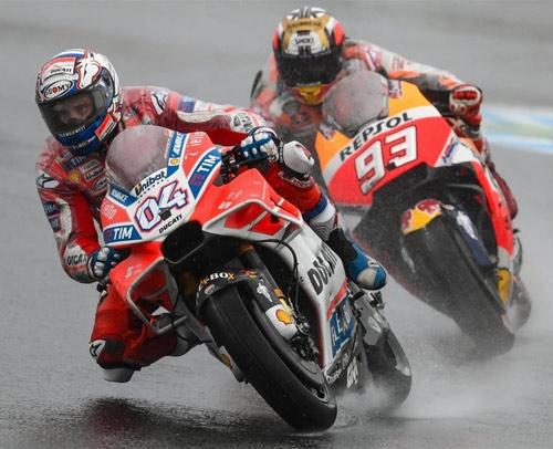 marquez dovizioso motogp motegi 2017