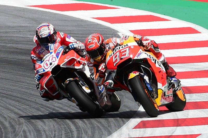 Dovizioso lleva al límite a Márquez en Austria (image)