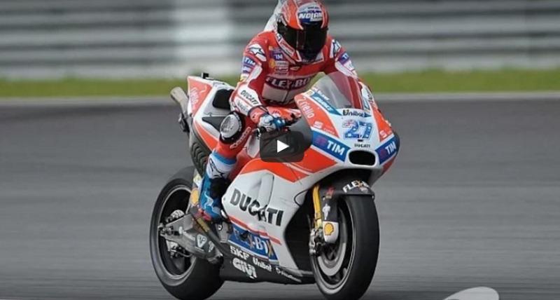 Stoner ya rueda con la Ducati GP17 de salida de escape variable (image)
