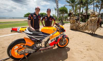 Presentación Honda Repsol Team MotoGP en Bali (vídeo) (image)