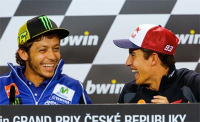"""Márquez: """"Las Yamaha serán muy fuertes en Brno"""" (image)"""