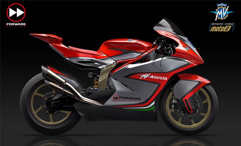 MV Agusta presenta su Moto2 para 2019 (image)