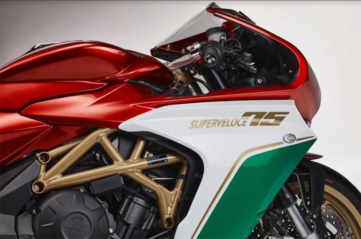 MV Agusta Superveloce 75º Aniversario 2021: 148 CV y tan sólo 75 unidades de la deportiva vintage italiana (image)