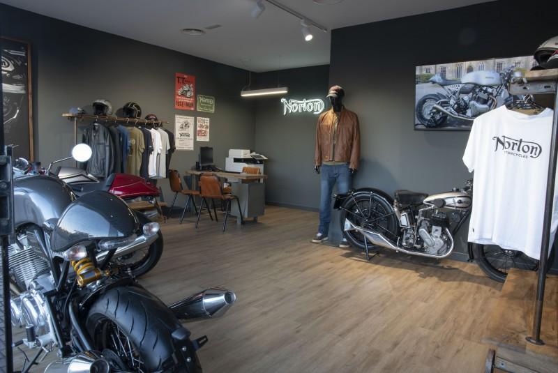 Norton Motorcycles abre su primera tienda en España (image)