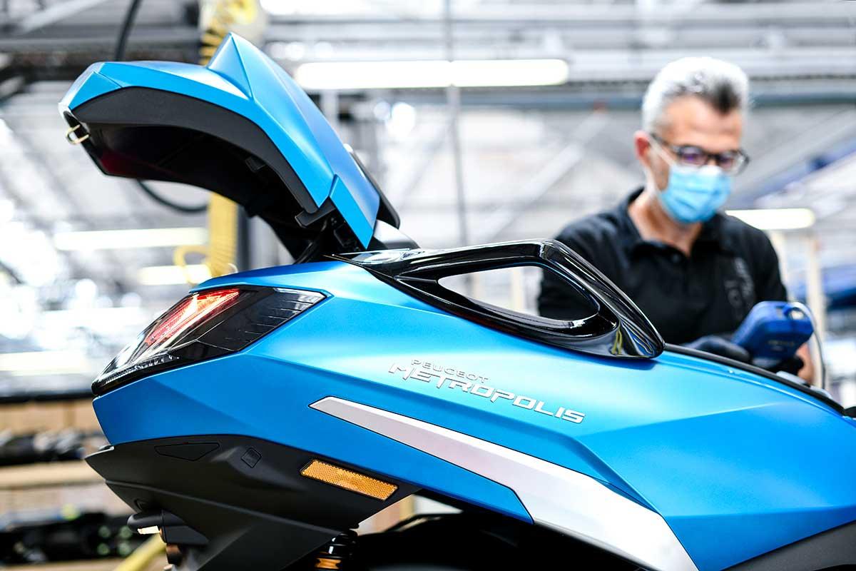 Peugeot Metropolis 400: la nueva generación llegará en otoño (image)