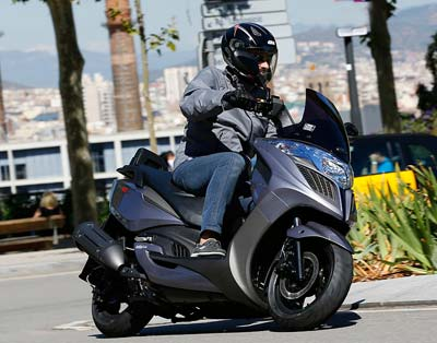 kymco yager gt p