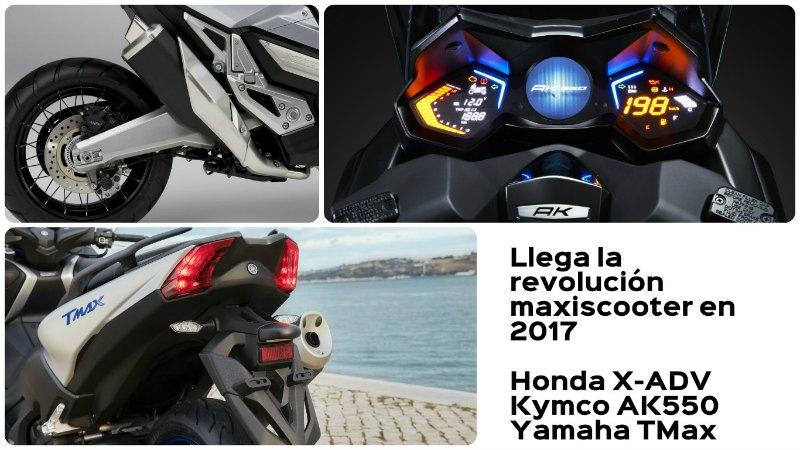 Honda X-ADV, Kymco AK550 y Yamaha TMax: los scooters que te harán soñar en 2017 (image)
