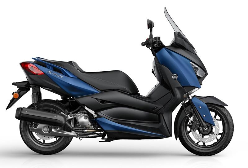 yamaha x max 125 2018 azul perfil