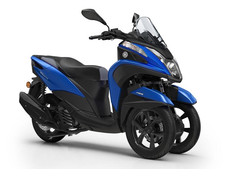 yamaha tricity 125 2018 perfil azul