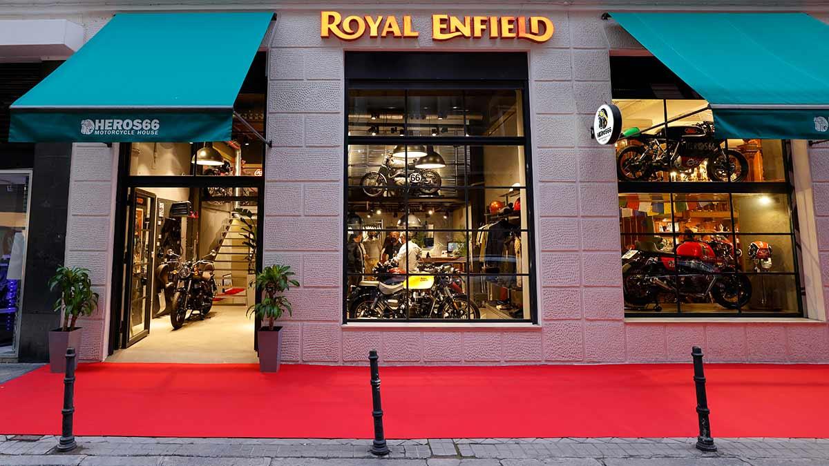 Royal Enfield inaugura una nueva tienda en Madrid (image)