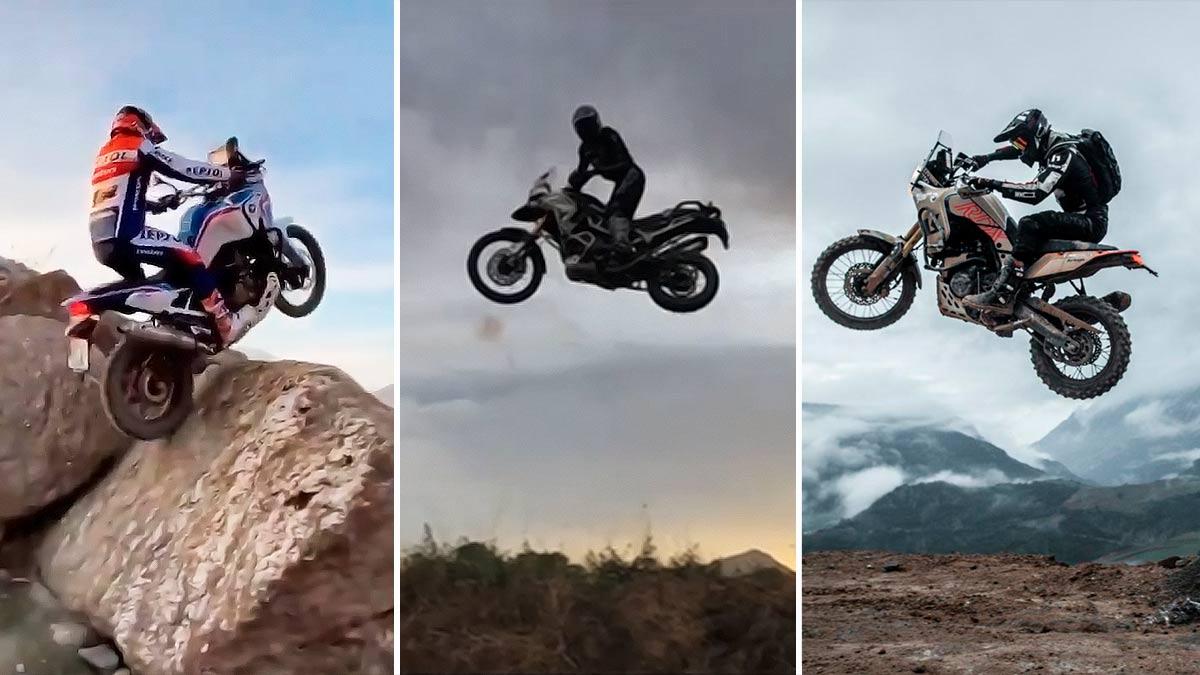 ¿Hasta dónde se puede llegar con una moto de trail? (image)