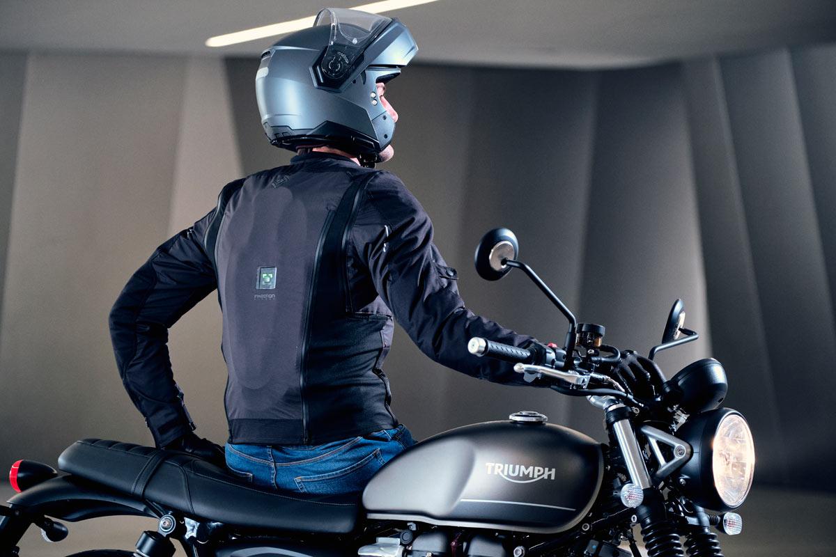Airscud, el airbag para moto de Tucano Urbano (image)
