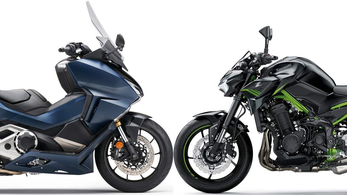 El Honda Forza 750 y la Kawasaki Z900…¡asaltan el mercado! (image)