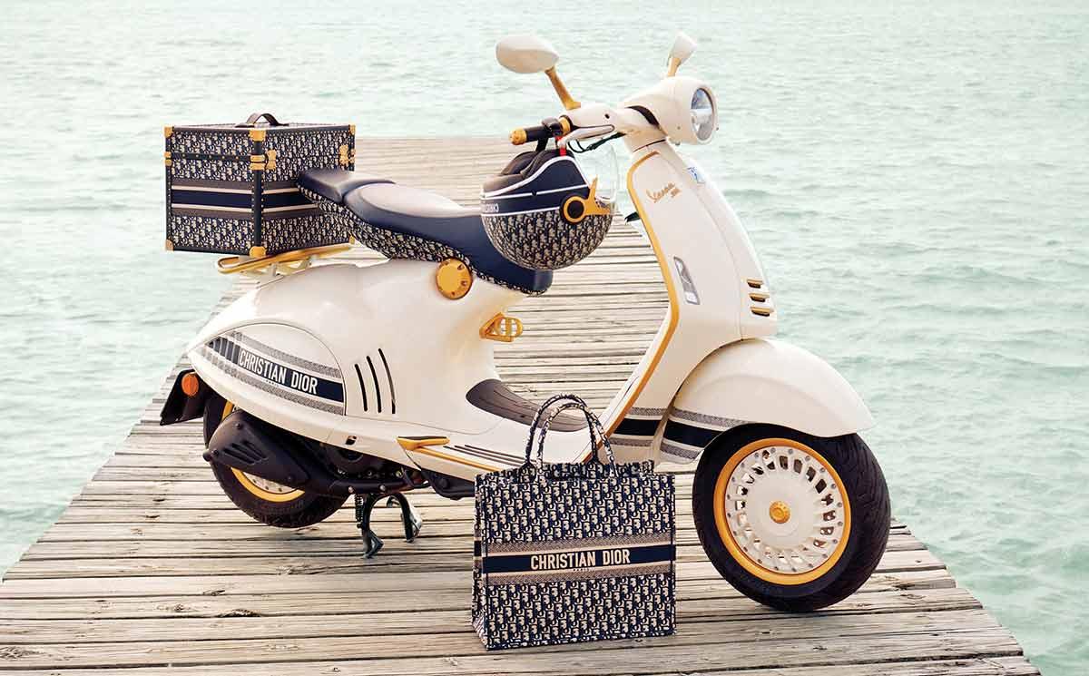 Vespa 946 Christian Dior: refinadamente lujosa (image)