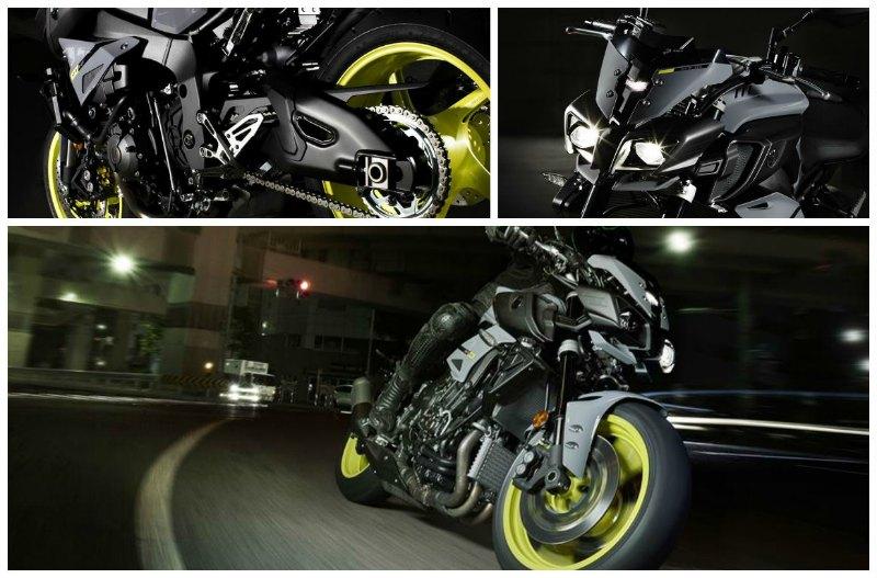 Yamaha MT 10 collage