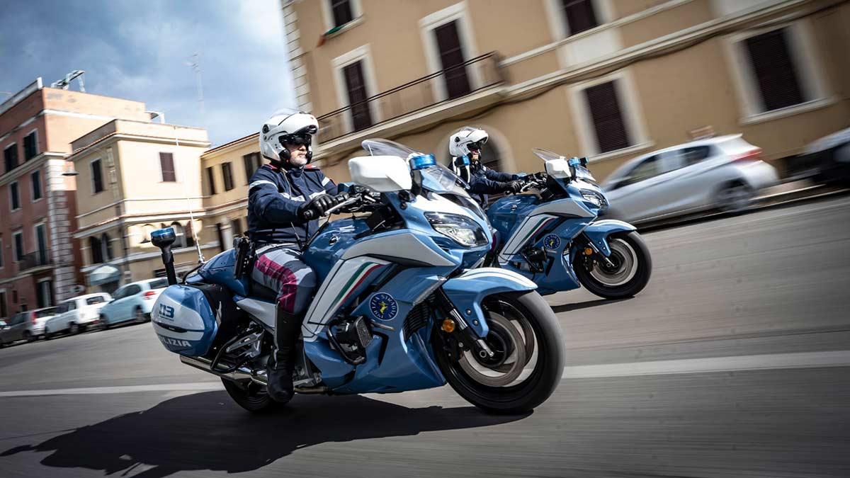 Yamaha FJR1300AE, la nueva moto de la policía italiana  (VIDEO) (image)