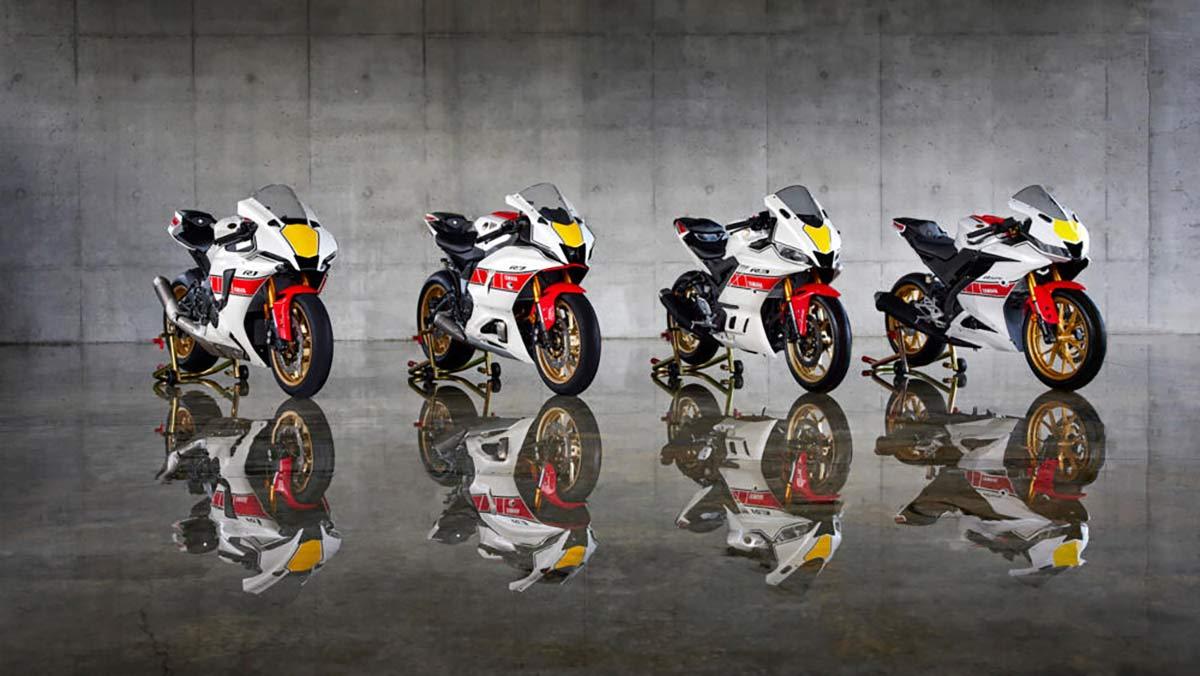 Yamaha GP 60 Aniversario 2022: Las R1, R7, R3 y R125 se visten con colores Speedblock (VIDEO) (image)