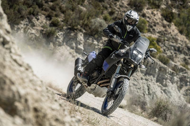 yamaha tenere 700 prueba off road camino