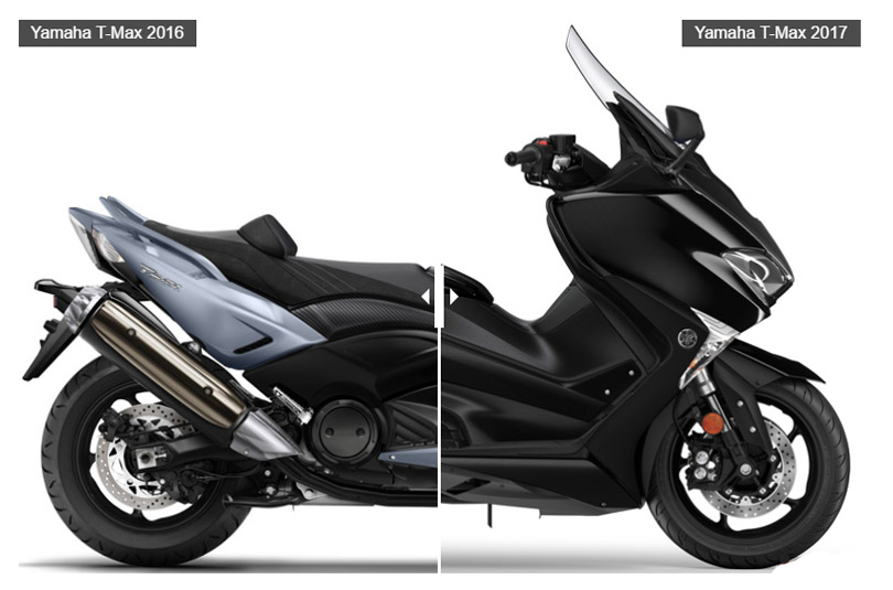 Yamaha TMax 2017 Vs.2016: así cambia (image)