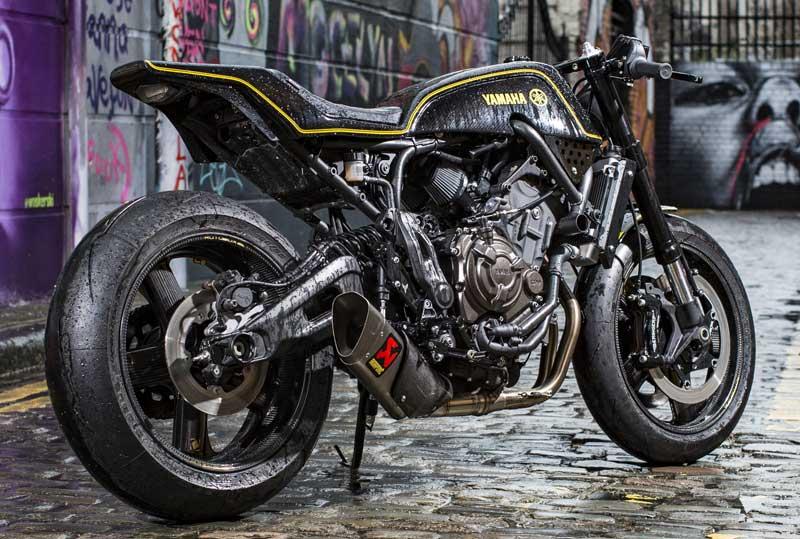 Sorprendente preparación de la Yamaha XSR700, por Rough Crafts (image)