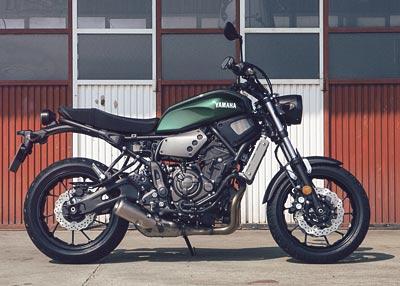 Yamaha XSR700: Scrambler de autor (image)