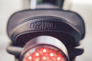 Detalle Yamaha XSR700