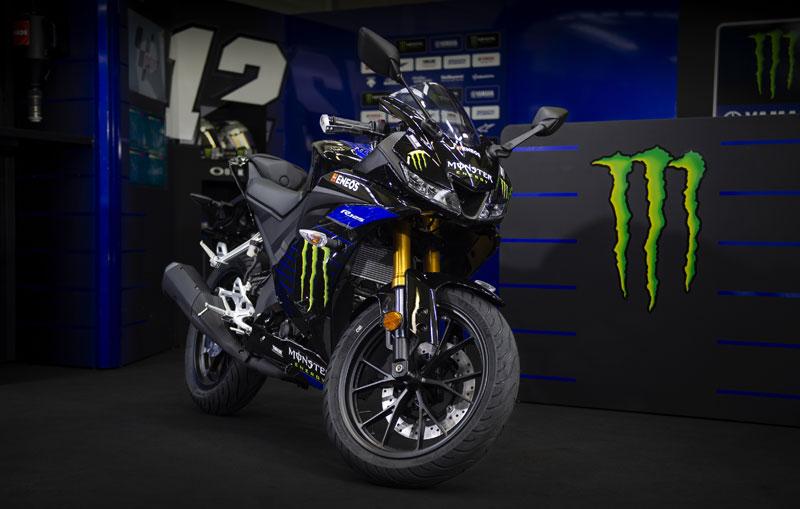 yamaha yzf r125 2019 motogp edicion monster yamaha 1