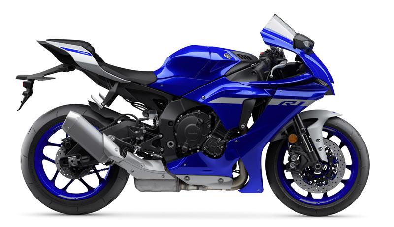 yamaha yzf r1 2020 perfil azul