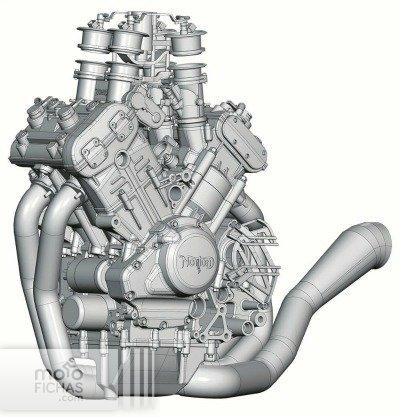 norton v4 superbike 200 cv 2017 motor