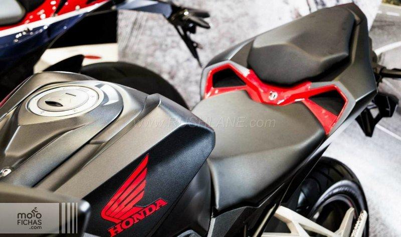 Honda CBR250RR 2016 detalles texto