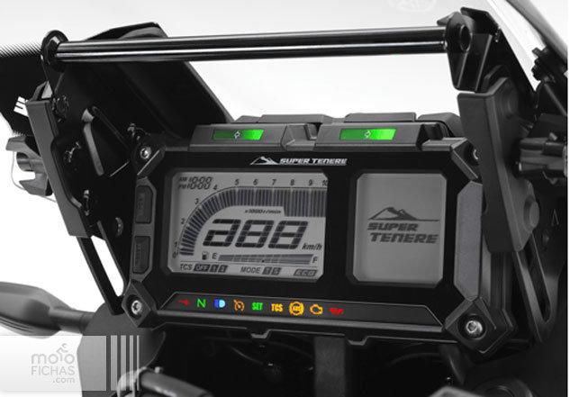 Yamaha-Super-Tenere-ES 2014 instrumentacion