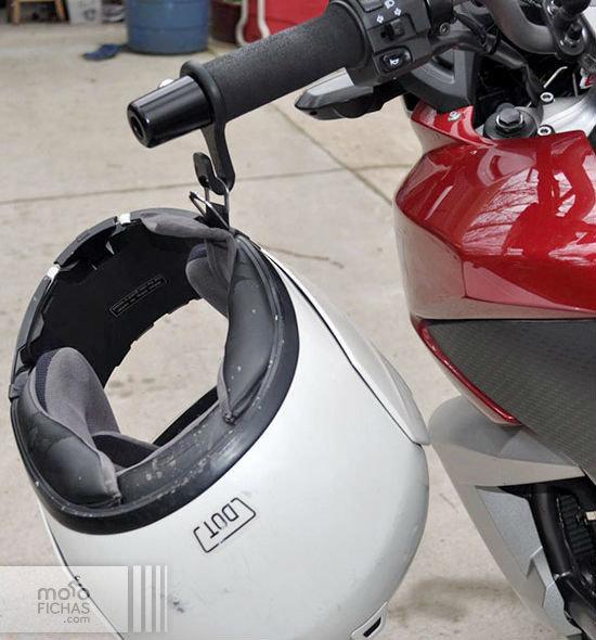 Helmet-Hook 2 gancho para casco moto