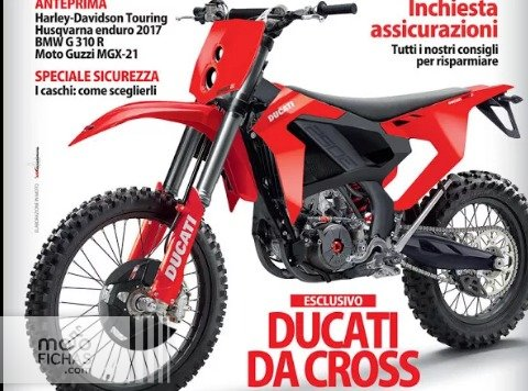 Ducati podría estar preparando su entrada en el motocross (image)