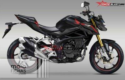 Así podría ser la versión naked de la Honda CBR250RR (image)