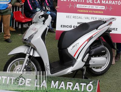 """Honda Scoopy SH125i """"Edición Especial Marc Márquez"""": solidaria (image)"""