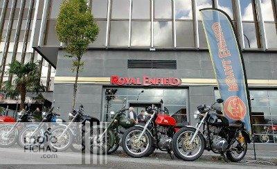 Royal Enfield inaugura su primera tienda en España (image)