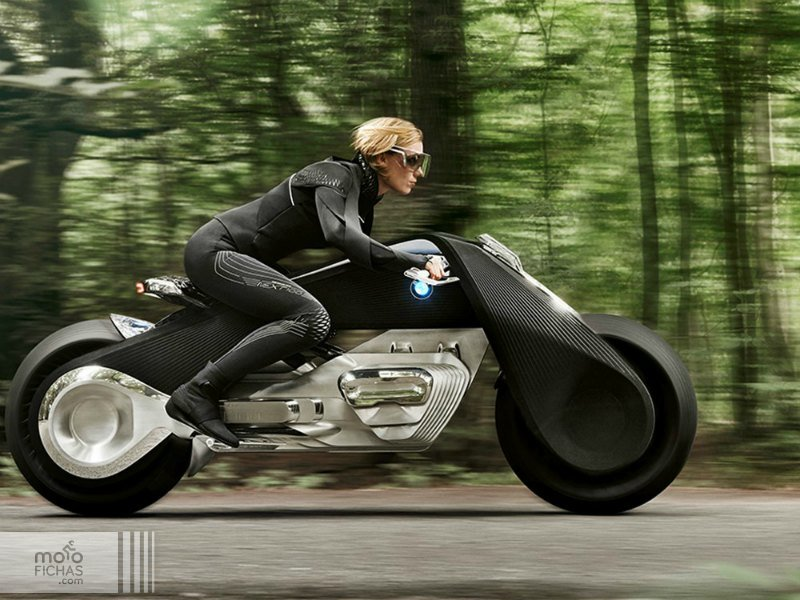La moto del futuro: BMW Vision Next 100 (image)