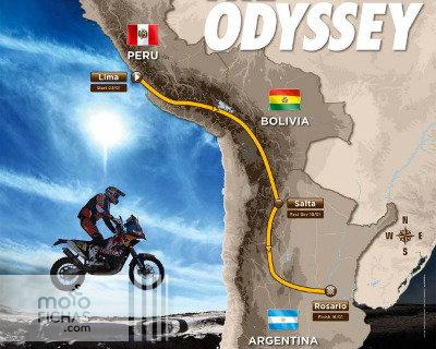 El Dakar 2016 comenzará en Perú (image)