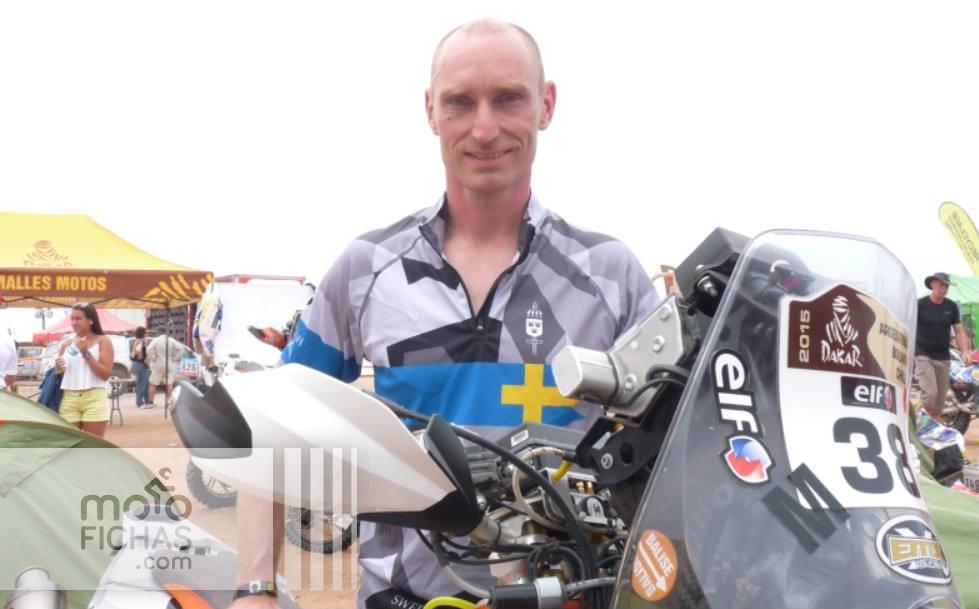 Thomas Berglund, líder de motos sin asistencia: los auténticos héroes del Dakar (image)