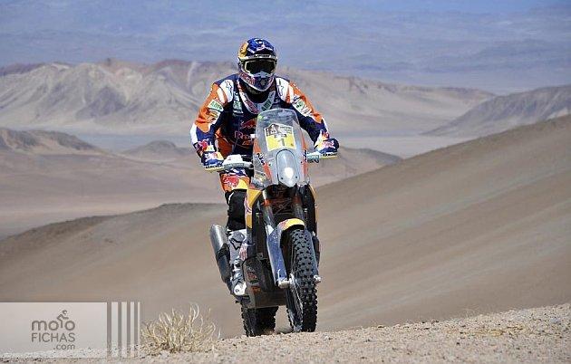 5ª etapa Dakar 2015: Marc Coma no da opción (image)