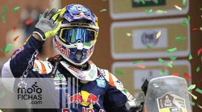 5º Dakar para Marc Coma: ganó la experiencia (image)