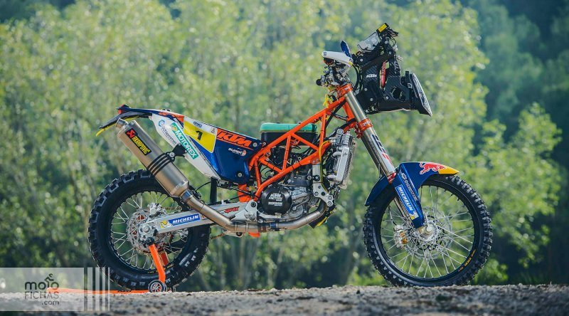 Mega galería KTM 450 Rally del Dakar 2017 (image)