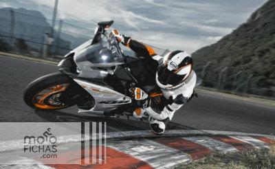 KTM RC390: técnica y acción en pista (vídeo) (image)
