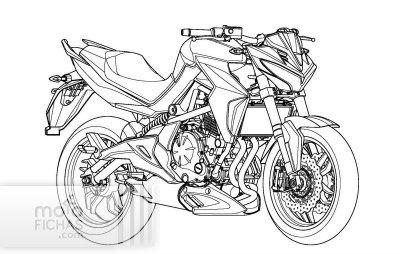Kymco trabaja en una naked derivada de la Kawasaki ER-6n (image)